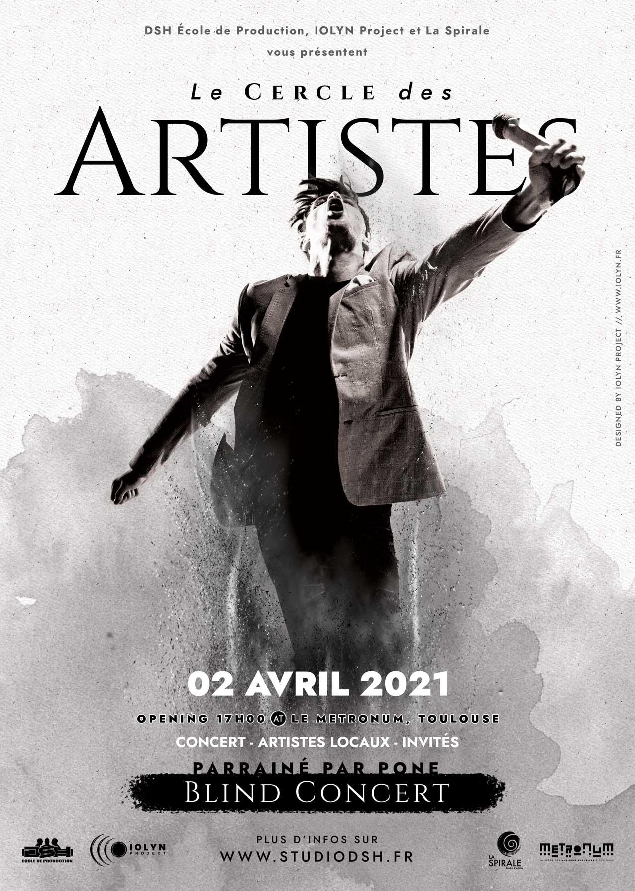 Le Cercle des Artistes - Le Metronum - 2021